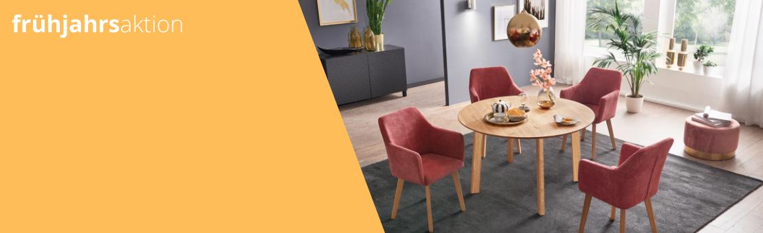 Zum Start in den Frühling haben wir in der diesjährigen Frühjahrsaktion tolle Tische, Stühle und Tischgruppen im Angebot.